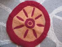 Sitzkissen aus Filz - 25,00€