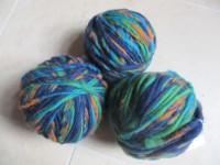 S24 Filzgarn grün-blau-orange