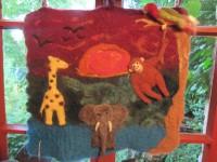 Wandbehang Dschungel - 45,00 €
