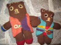 MZ05 Bärenbrüder 45,00€ aus Alpakawolle